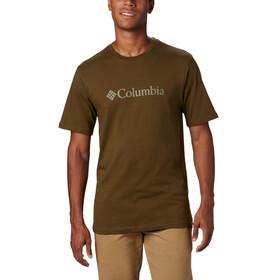 Columbia CSC Basic Logo Short Sleeve Shirt Men new olive